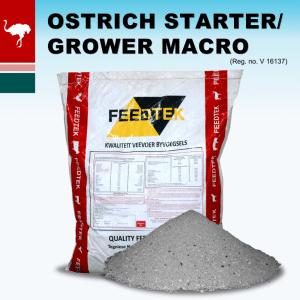 Ostrich Starter Grower Macro